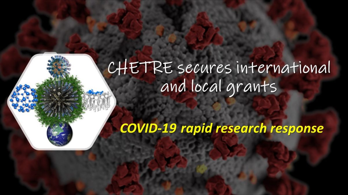 CHETRE secures international and local grants for COVID-19 rapid research response